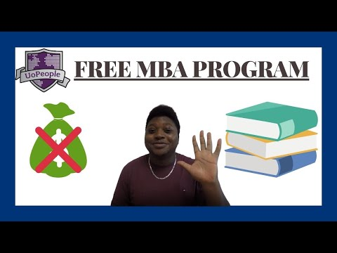 What is University of the People MBA program like?