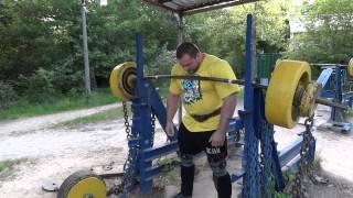 видео Бабич Ярослав. Тренировка ног с травмами колен