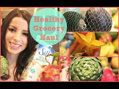 Healthy Spring Grocery Haul! Organic & Glutenfree