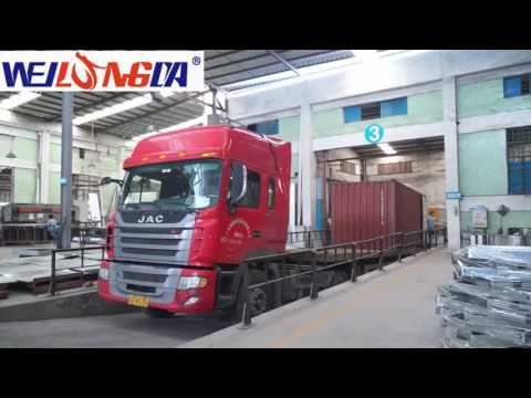 Guangzhou Weilongda Car Spray Paint Booth Factory Introduction 2017