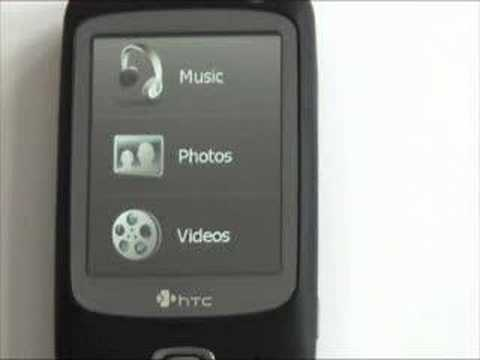 HTC Touch Dual UI