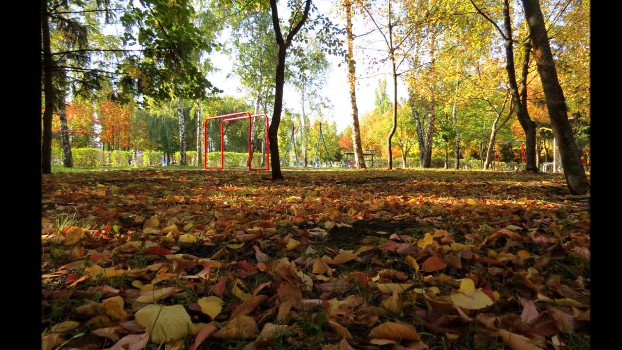 Осень в моём городе - YouTube