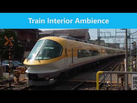 1 HOUR - Train Interior Ambience (CC BY 4.0)
