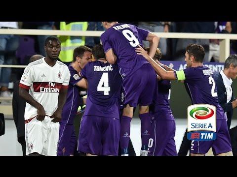 Fiorentina : AC Milan 2-0 [Serie A | 23.08.2015] Round 1 [Match Review]