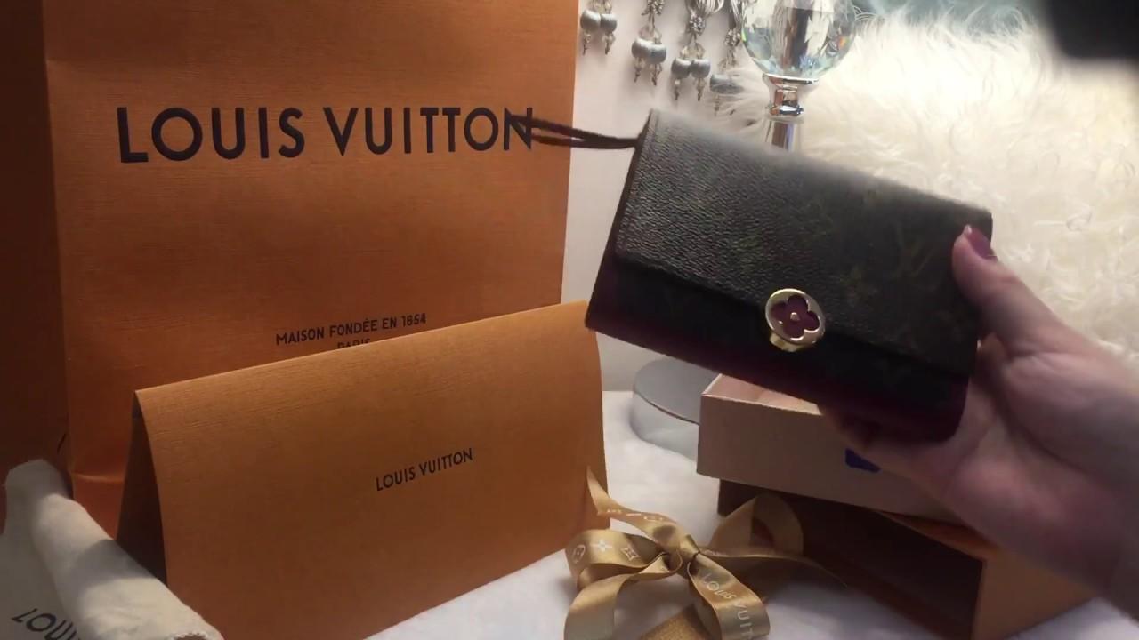 69fae2b0da05 Flore Compact Wallet Louis Vuitton Unboxing