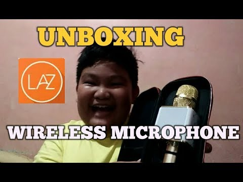 UNBOXING Bluetooth Microphone