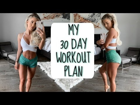 MY FULL 30 DAY WORKOUT PLAN | Revealing the surprise thumbnail