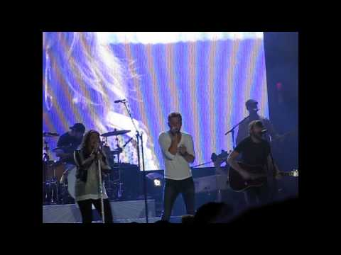 Lady Antebellum Lie With Me Louisville Ky 081414