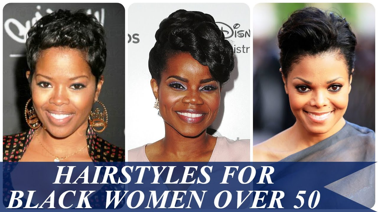 Hair Style 50 Year Old: Hairstyles For Black Women Over 50