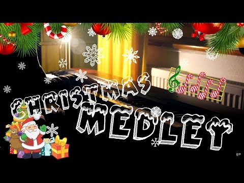 Christmas Medley for Advanced Piano Solo! HD  Kyle Landry