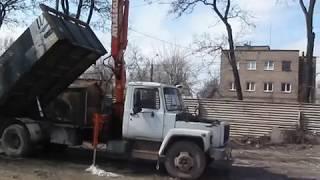 Установка манипулятора на ГАЗ 3309