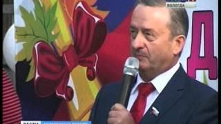 Георгий Шевцов провел для учащихся волейбольного класса школы №20 Череповца урок ГТО