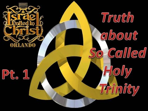 The Truth About The So Called Holy Trinity Part 1