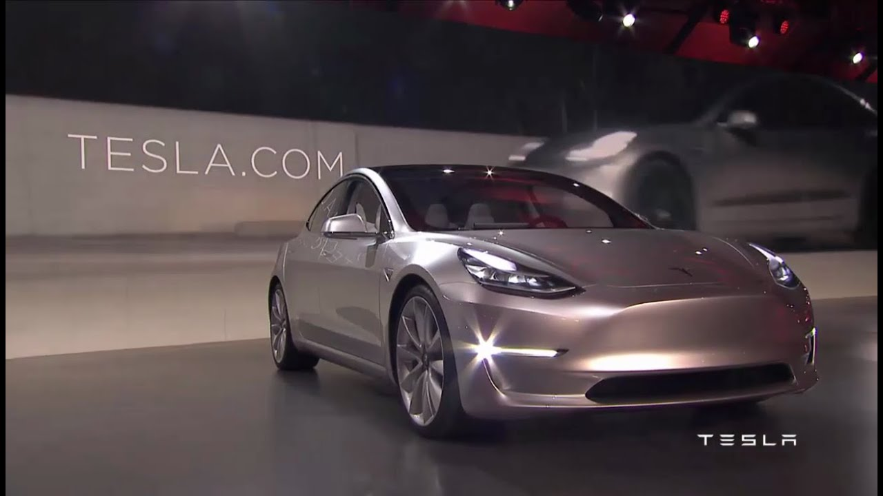 hd elon musk and the tesla model 3 unveiling full event youtube