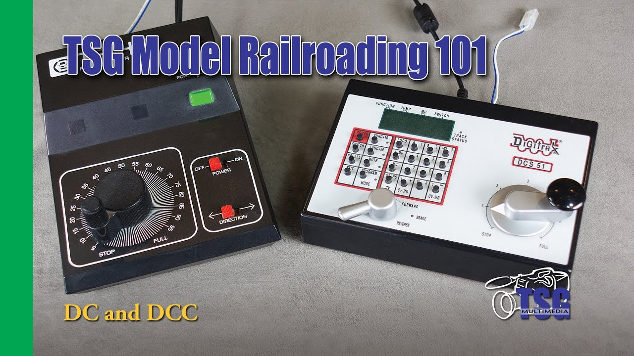 Model Railroading 101 Ep 3 Dc And Dcc For Beginners Youtube Reverse Loop Track Wiring Mr101 Trains Railroad
