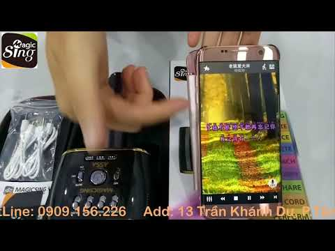 how to user MP30 smart microphone karaoke