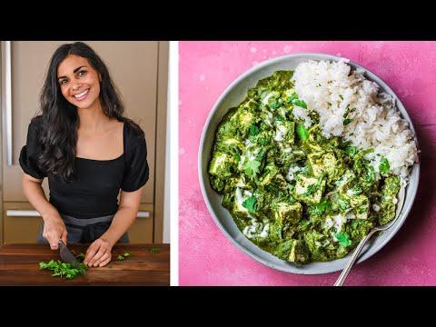 VEGAN PALAK PANEER | incredible Indian recipe