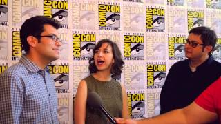 The Voices of Bob's Burgers' Tina, Louise, and Gene at Comic Con 2015