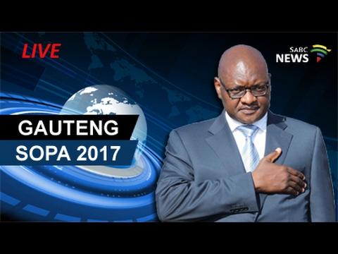 Gauteng State Of The Province Address 2017