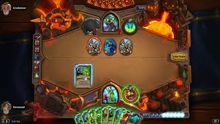 Hearthstone: Wild Boomsday Star Aligner Druid vs. Kingsbane Rogue (Catalog: August 2018)