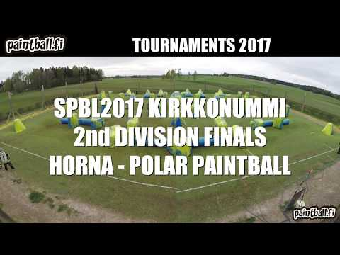 Horna vs Polar Paintball - Finals - SPBL2017 Kirkkonummi