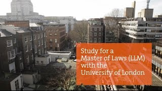 Studying for an LLM by distance learning