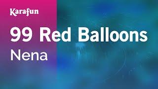 Karaoke 99 Red Balloons (99 Luftballons) - Nena *