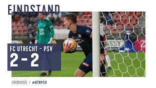 Samenvatting | FC Utrecht 2 - 2 PSV Eindhoven | ALL GOALS HD & HIGHLIGHT | COMEBACK ( 10/09/2019 )