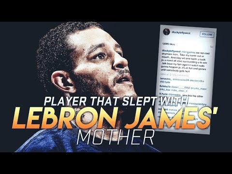 The Player Who ADMITTED To Having SEX with LeBron's MOTHER.. Story Of Delonte West & Gloria James