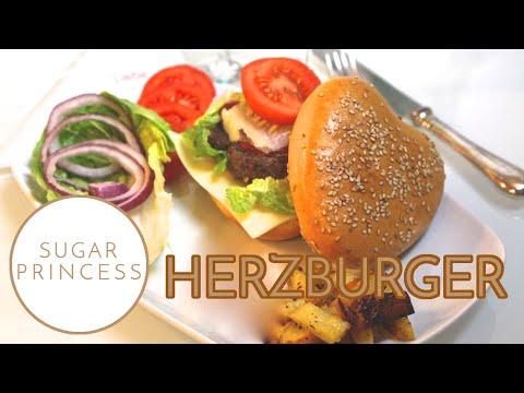 burger in herzform f r den valentinstag hamburger selbst gemacht youtube. Black Bedroom Furniture Sets. Home Design Ideas