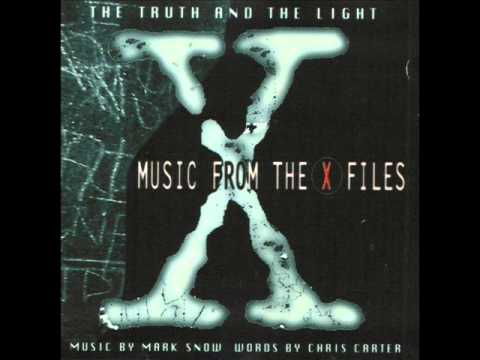 Music from the X- files .