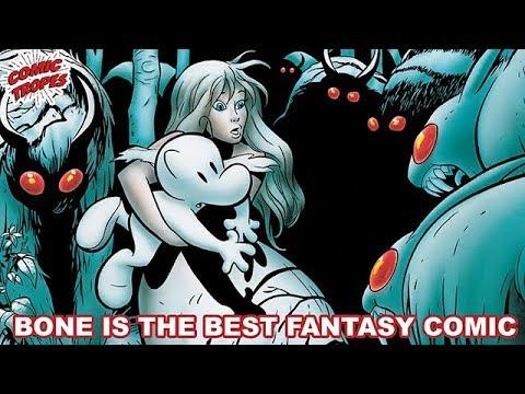 Jeff Smith's Bone is the Best Fantasy Comic