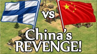 China's REVENGE! Finland vs China 3v3 Game!