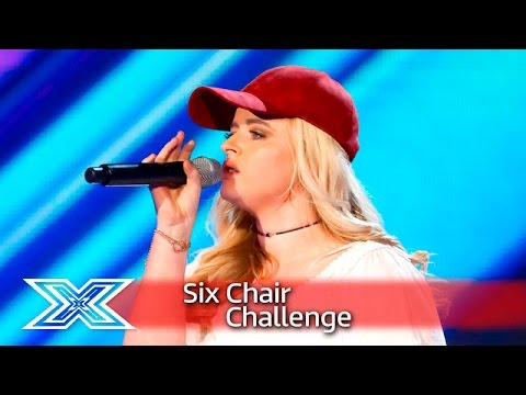 Caitlyn Vanbeck sings one of Simon's favourites | Six Chair Challenge | The X Factor UK 2016