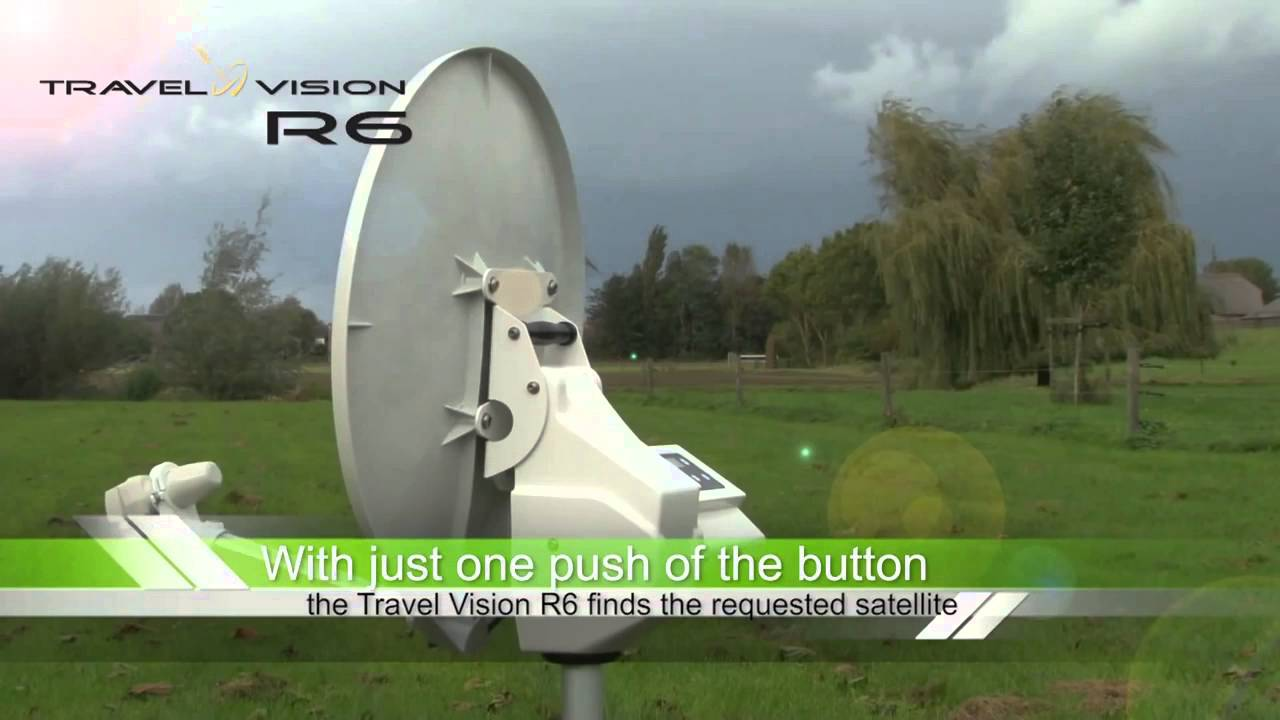 Travel Vision R6 Mobile Fully Automatic Satellite Dish