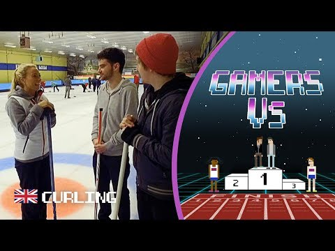 Gamers Rossbom & Marley Face a Curling Challenge with Team GB | Gamers Vs.