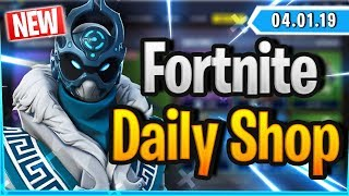 Fortnite Daily Shop *NEW* SNOWFOOT SKIN (4 Januar 2019)
