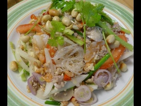 Thai food-Glass noodle salad
