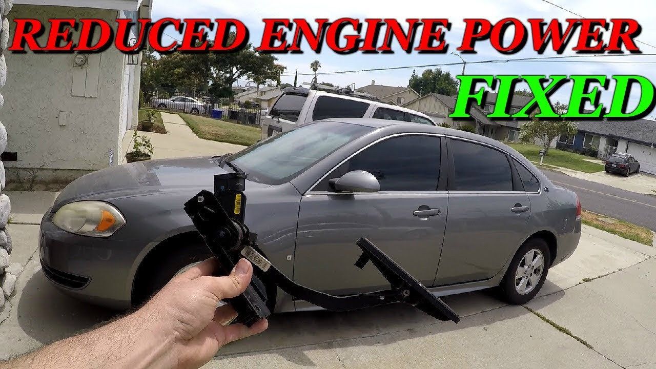 Reduced Engine Power FIX on Chevy P2122 P2138 P2135 Solved
