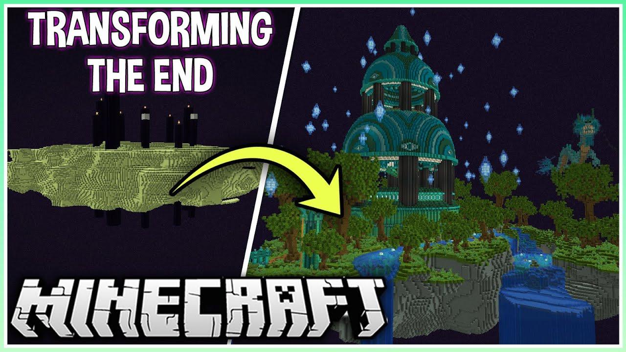Download I Turned the End into a Huge Mega Base!