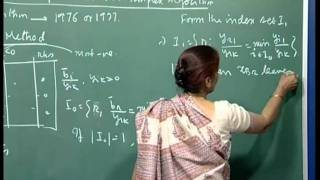 Mod-01 Lec-30 Starting feasible solution, Lexicographic method for preventing cycling
