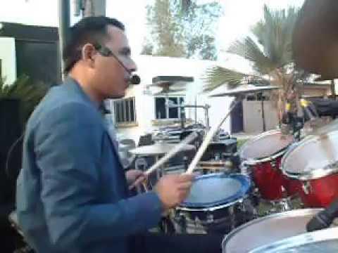 Me vas a extrañar (cover) Manuel Carrillo baterista de Entorno norte