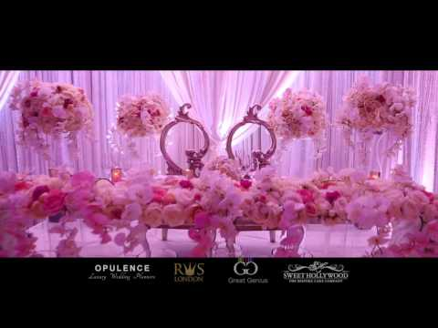 Asian Wedding Reception At The Grove | Luxury Hotel - Wedding Planner London