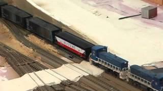 Bir Geçiş Yolu Modeli Nasıl Model Tren. Gerçekçi model tren düzenleri olun!