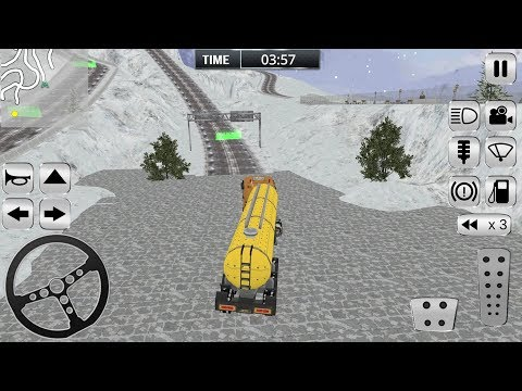 Offroad Snow Truck Driving (by Mega Gamers Production) Android Gameplay [HD]
