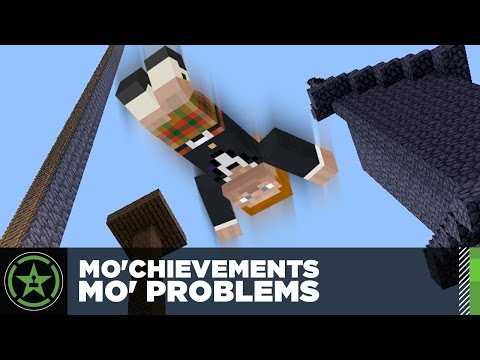 Let's Play Minecraft – Episode 203 – Mo'Chievements, Mo' Problems