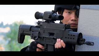 China says it has developed The ZKZM 500 laser assault rifle