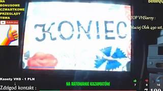 #KAZAMATY 60 (100) PRZEGLĄDAMY 100 KASET! 30 SZTUK ODSŁONA NR 1   VHS RECORDS