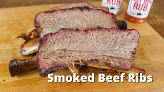 Smoked Beef Ribs | Dino Beef Ribs Recipe - Texas Style