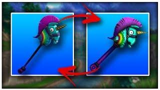 Fortnite Pickaxe In Minecraft (Rainbow Smash) *Speedart/Tutorial*